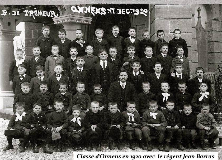 Classe Onnens 1920